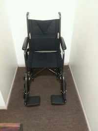 black and gray folding wheelchair Brookhaven, 19015