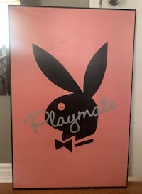 Playmate wooden poster