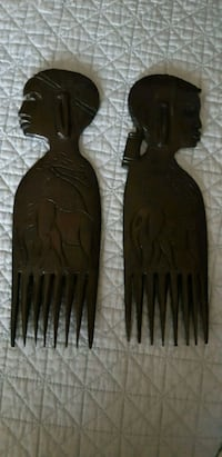 Hand Carved decor (combs) decorative