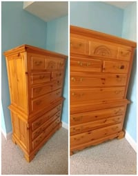 Wood Dresser. Quick Sale!  Springfield, 22150