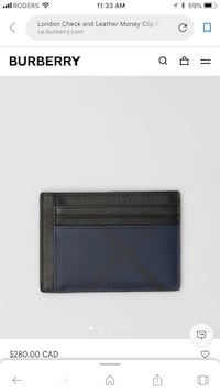 Burberry Wallet Montreal