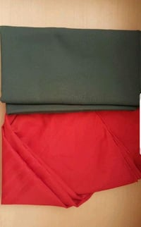 Green Red Rectangle round table cover