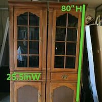 2 cabinets $90 Mesquite
