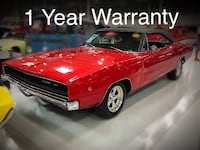 1968 Dodge Charger -FREE 1 YEAR WARRANTY-NUMBERS MATCHING 383/4 SPEED-RESTORED- Mundelein