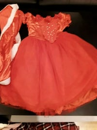 women's red long-sleeved dress Longueuil, J3Y 2M9