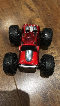 red and black RC car Laval, H7V