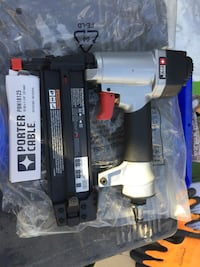 black and gray Porter Cable nail gun Laval, H7N 1S7
