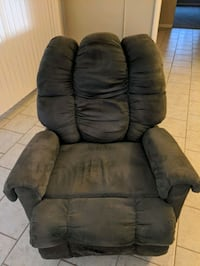 Free Gray Recliner Rocker Chair