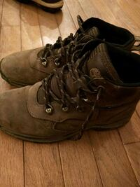Timberland hiking boots boys size 5