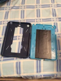 two black and blue tablet cases Mississauga, L5W 1L9