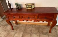 Beautiful Solid Rustic Console Table  Castaic, 91384