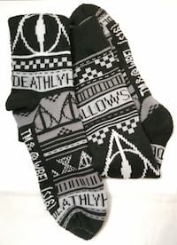 Deathly Hallow Harry Potter Long Socks Springfield