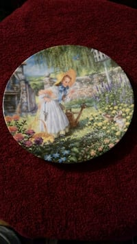 Collectors Antique hand-painted plate 255 mi