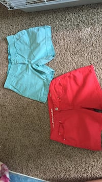 Blue and pink shorts 2 for $10 or 1 for $5 Omaha, 68105