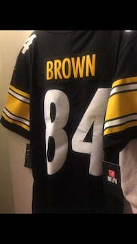 Black and yellow nike nfl jersey Long Beach, 90804