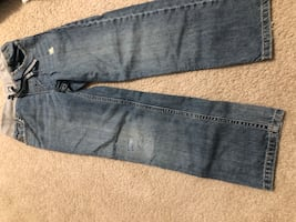 Boys size 7 pull on jeans