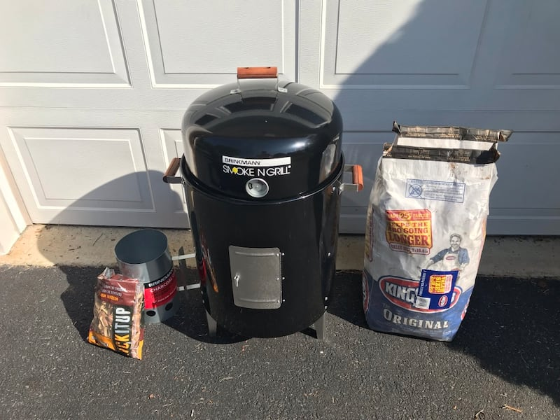 New Brinkmann Smoke N Grill 0