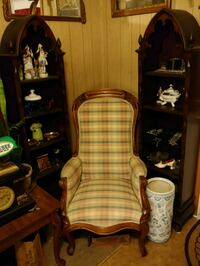 Antique Victorian Chair and 2 Shelving Units Heilwood