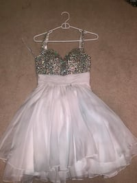 Formal white dress with sequin bodice Abingdon, 21009