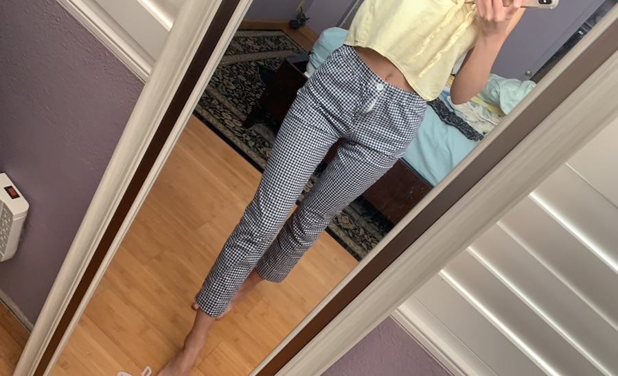 Photo Brandy melville gingham pants