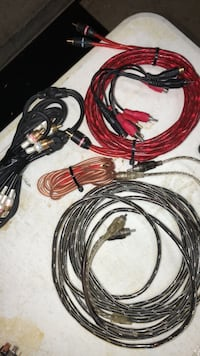 assorted monster RCA Cabes for mobile audio. Macomb, 48044