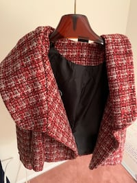 Winter jacket - red and white plaid Mc Lean, 22101