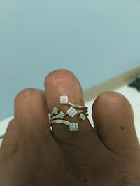 Gold,,,white gold and sterling silver ring Winnipeg, R3A 0J9