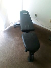 Fuel workout bench new condition (weights) Lancaster, 93534