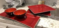 Sushi set. Black and red Vaughan, L4H 2S8
