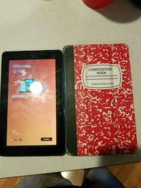 Cracked screen fire tablet with case  Peoria, 85345