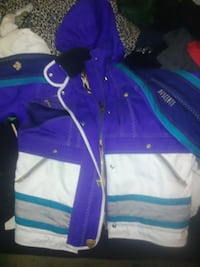 purple and white zip-up jacket 252 mi