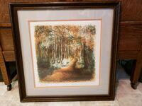 Signed Litho 24x24 Vacaville, 95687