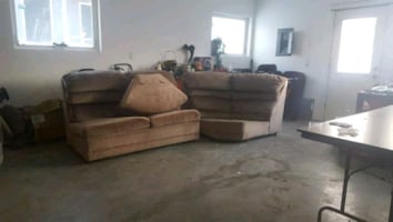 Hideabed sectional