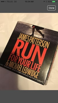 Run for your Life by James Patterson audiobook. Calgary, T3G 3V3