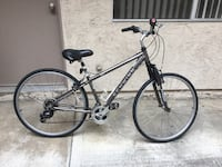 Black and gray hardtail bike San Diego, 92122