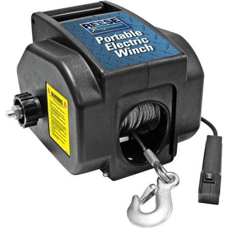 Portable Electric Winch for Boats Atv Trailer Off Road With Remote Pul