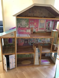 brown and pink doll house Irvine, 92602