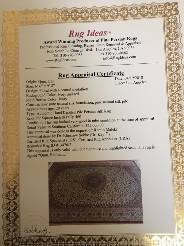 Used Persian rug for sale - letgo