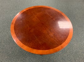 "48"" Round inlay table - OBO"
