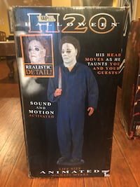 6 ft. Life-sized Animated Michael Myers Halloween Prop/Decoration Martinsburg