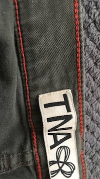 TNA Green Pants Size 4