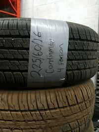 Continental vehicle tires