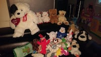 assorted character plush toy collection 3716 km
