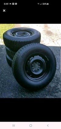BF GOODRICH WINTER SLALOM TIRES AND RIMS  East Gwillimbury, L0G 1R0