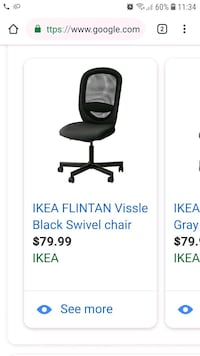Flintan ikea chair Gaithersburg, 20877