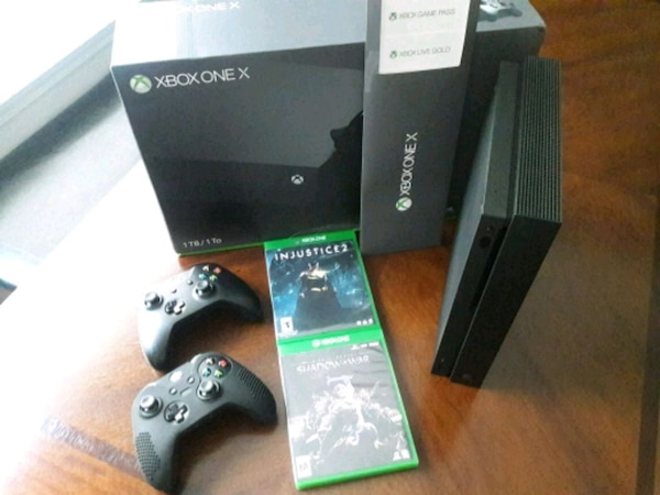 Xbox One X bundle (Price is Firm)