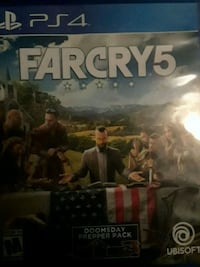 Sony PS4 Farcry 5 case