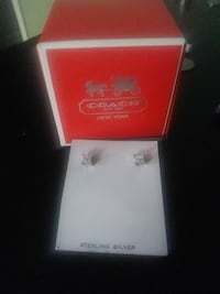 Coach - sterling silver earrings  43 km