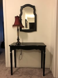 Table/Mirror & Lamp