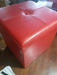 BRAND NEW Leather Look Ottoman